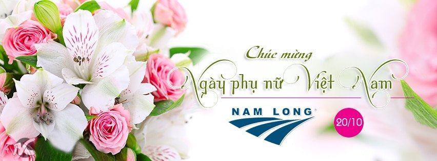 Nam Long chúc mừng ngày phụ nữ Việt Nam