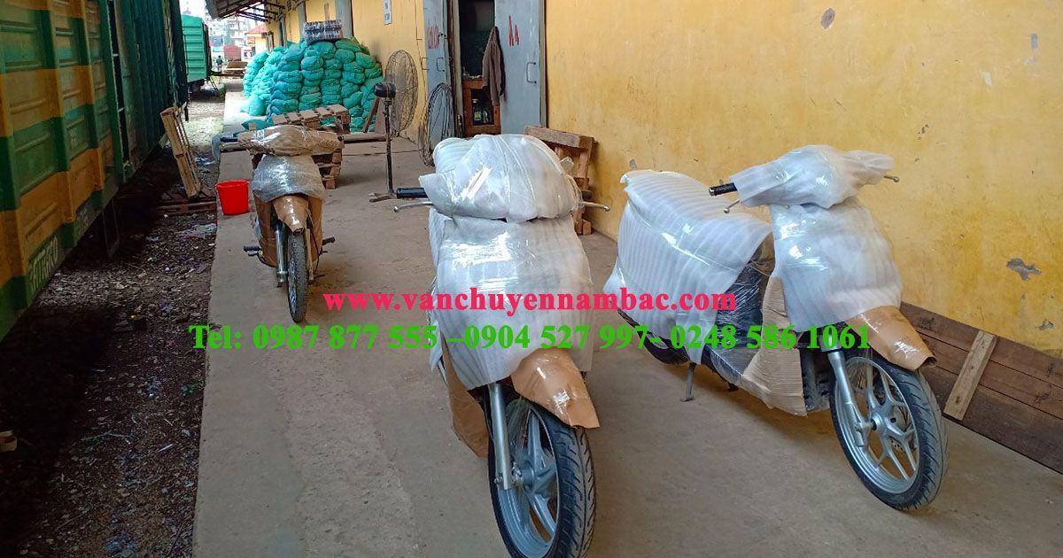 Gửi xe máy Hà Nội vào Sài Gòn giá tốt nhất