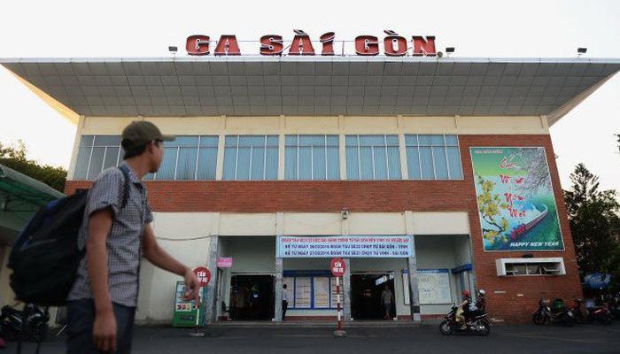 vận chuyển hàng hóa bắc nam qua ga Sài Gòn