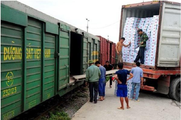 Giá cước vận chuyển hàng hóa bằng đường sắt mới nhất cập nhật 2020