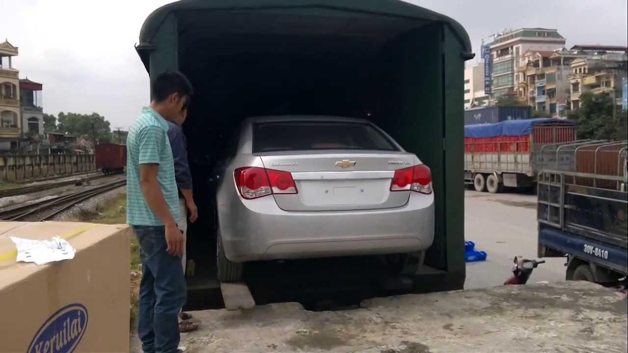 Gửi hàng, ô tô, xe máy vào Nha Trang bằng tàu hỏa